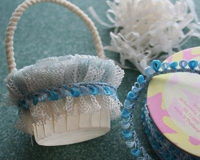 tiny Easter basket tutorial