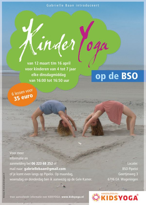 Kid Yoga Flyer - Google 搜尋 | Inspire Fitness | Pinterest | Yoga