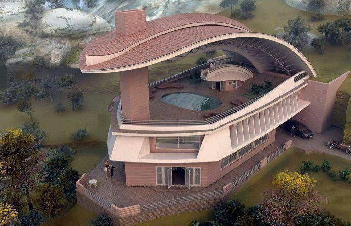 Amazing House House Designs Exterior Unique Houses Unusual Buildings