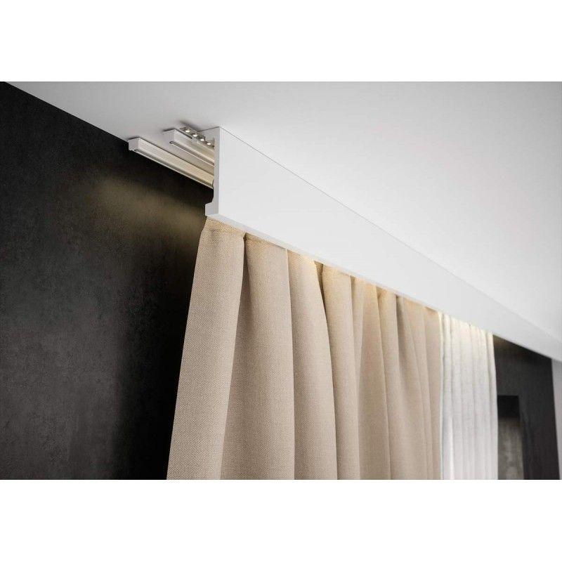 Nowoczesna Gladka Listwa Do Zabudowy Karnisza Lk 03 Creativa Oswietleniowa Led Maskownica Ka Fitted Bedroom Furniture Luxury Curtains Fitted Bedrooms