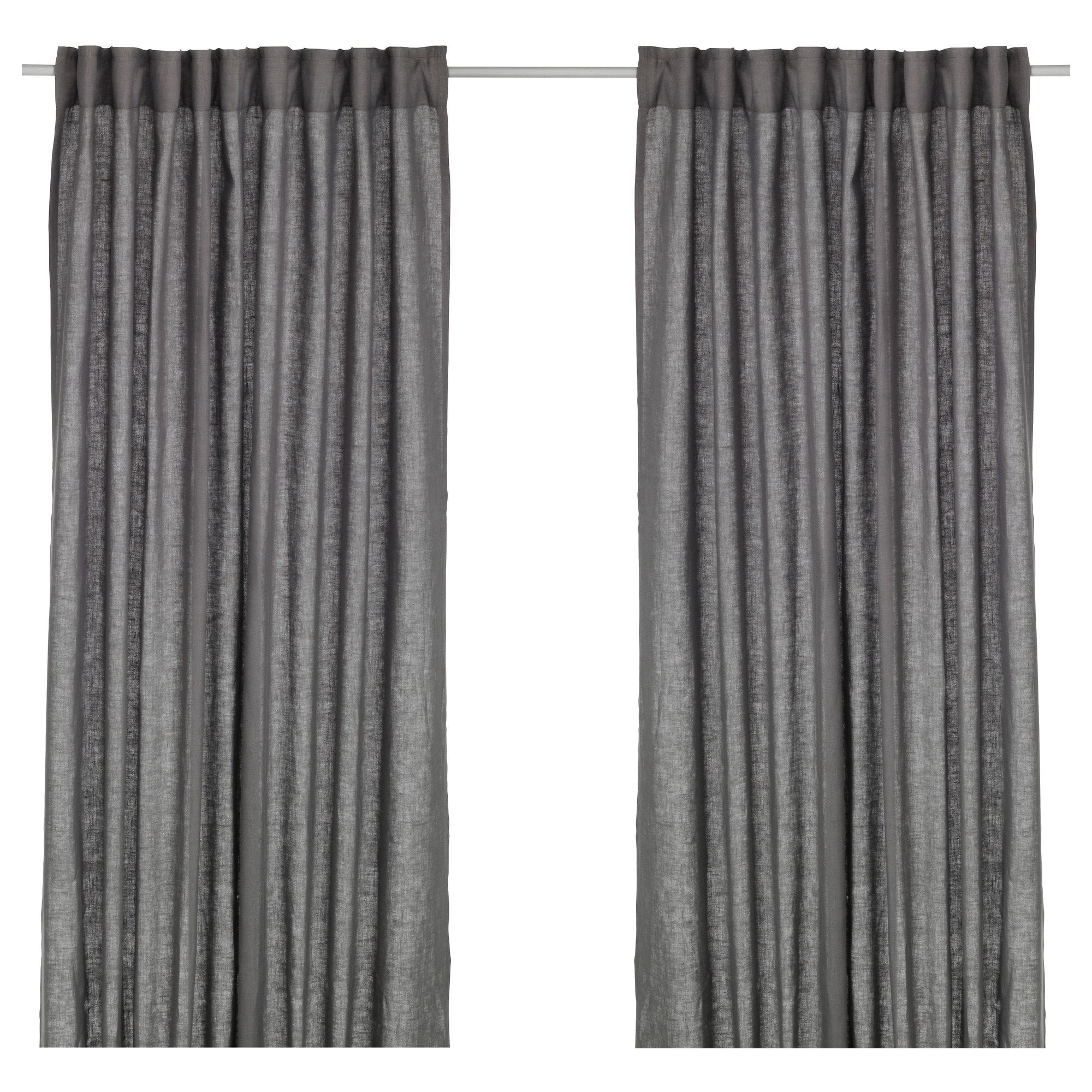 Aina Curtains, 1 Pair  Ikea
