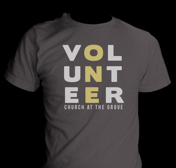 This is a pretty popular style for a church volunteer