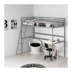 Sv rta camas altas ikea y gris Estructura cama 90x200
