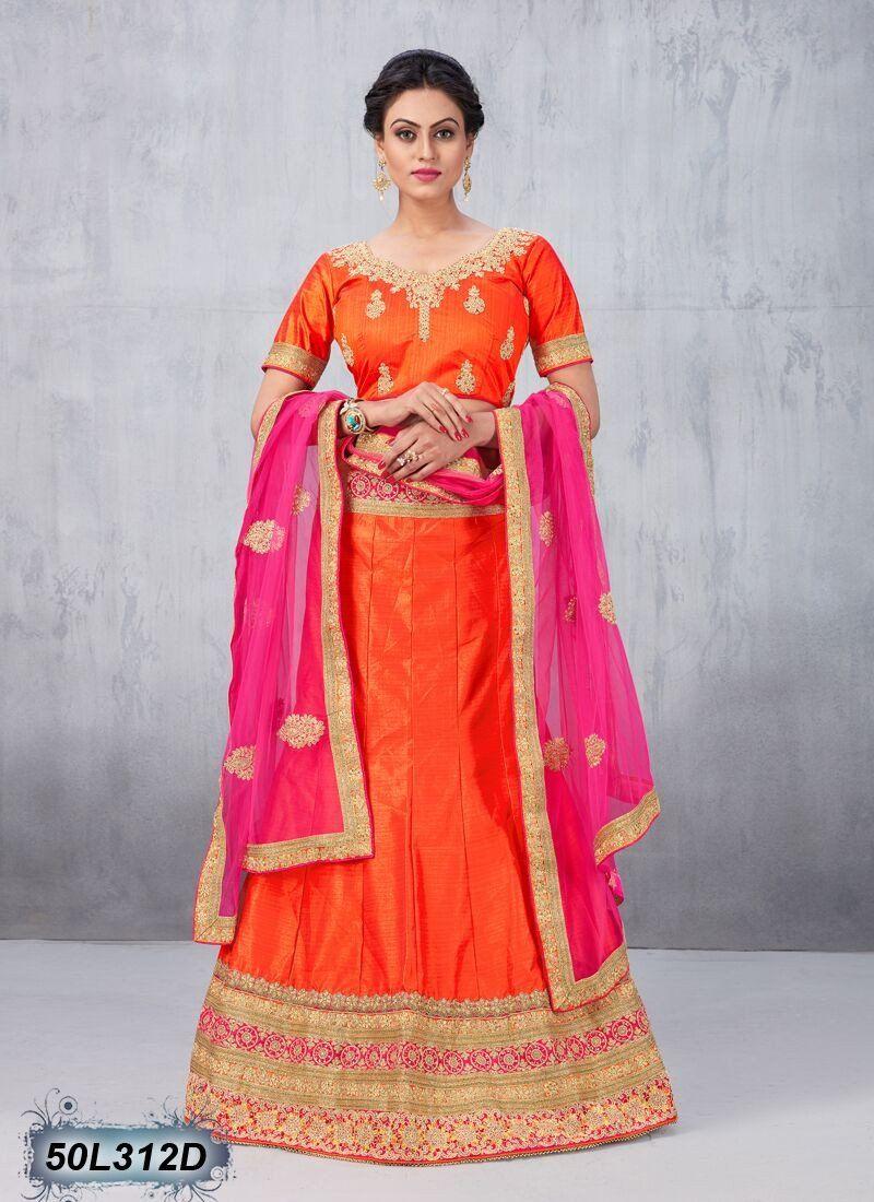 Bring in your fabulous looks with this designer lehenga choli avatar