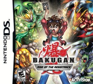 Amazon Com Bakugan Rise Of The Resistance Nintendo Ds Video