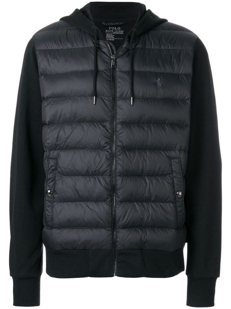 Polo Ralph Lauren Padded Front Jacket Farfetch Polo Ralph Lauren Mens Outerwear Jacket Jackets [ 1067 x 800 Pixel ]