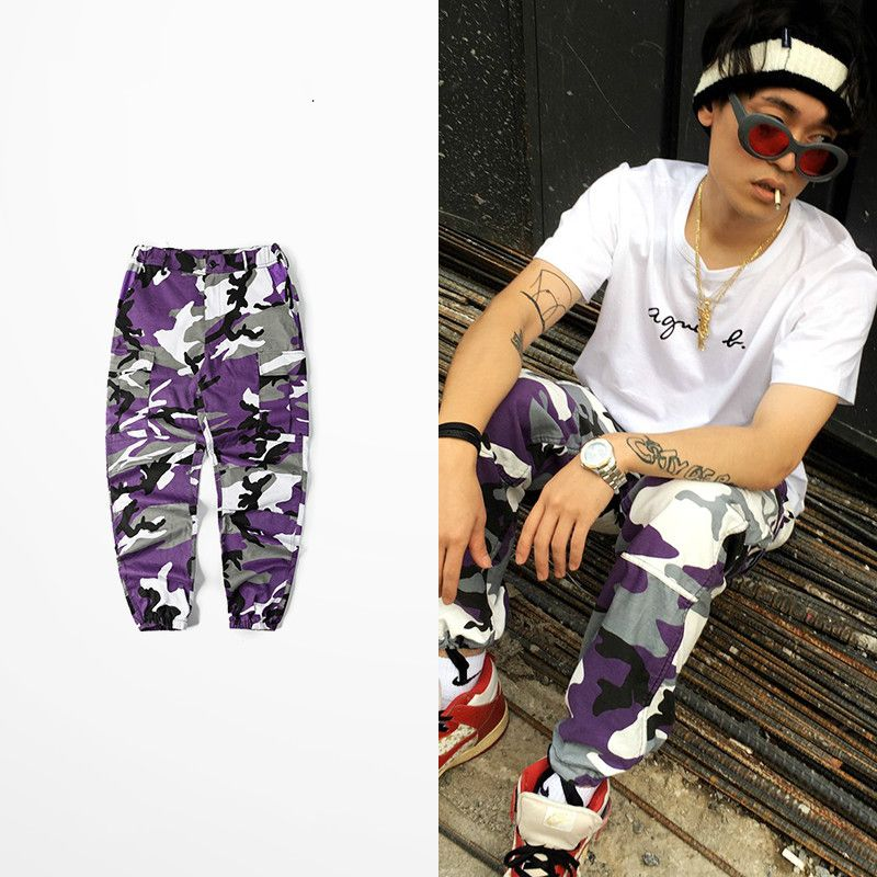 40b45bf307d0c Militar Camouflage Pants Dark Soul Cargo Pants Men Skateboard Bib Overall  Camo Pants Ins Network With Bdu High Street Pants