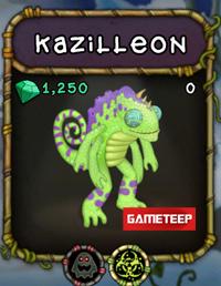 My Singing Monsters Kazilleon Monster Gameteep Singing Monsters My Singing Monsters Cheats My Singing Monsters