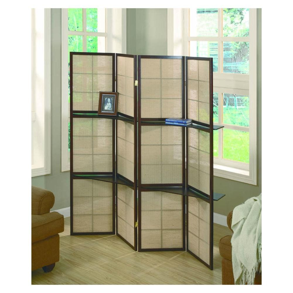 Room divider ideas screens room dividers folding for Retractable privacy screen