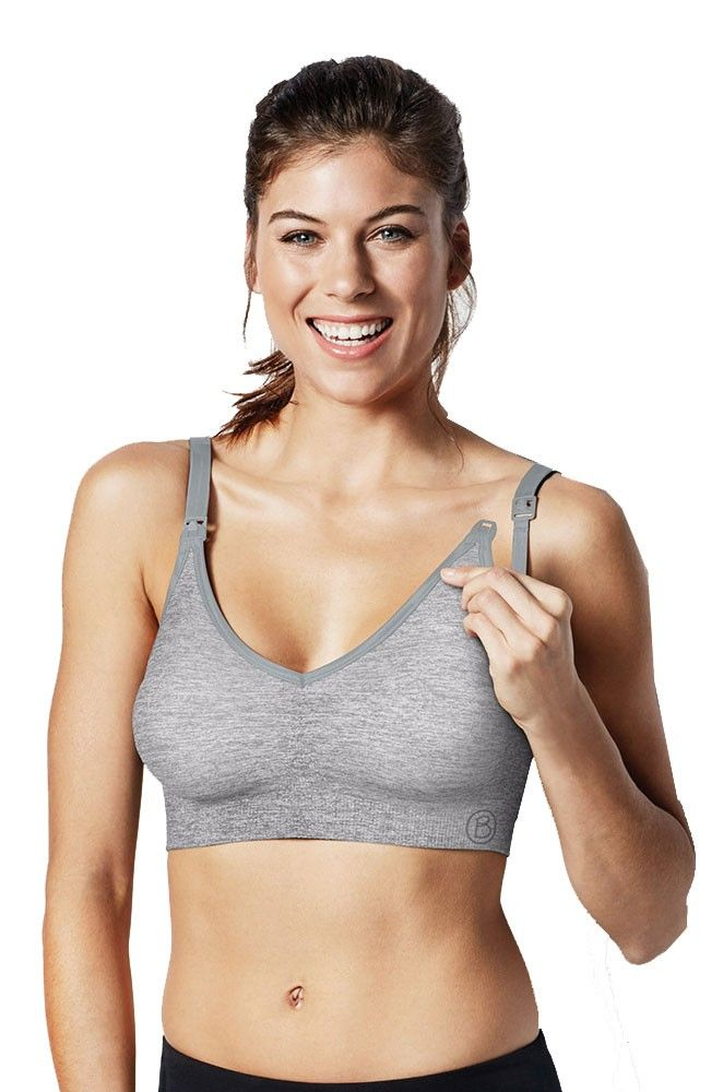 482ca15cbc4c1 Bravado Designs Body Silk Seamless Yoga Nursing Bra in Dove Heather. We  have 14 new arrival products this week. Please use coupon code NewProducts  to ...