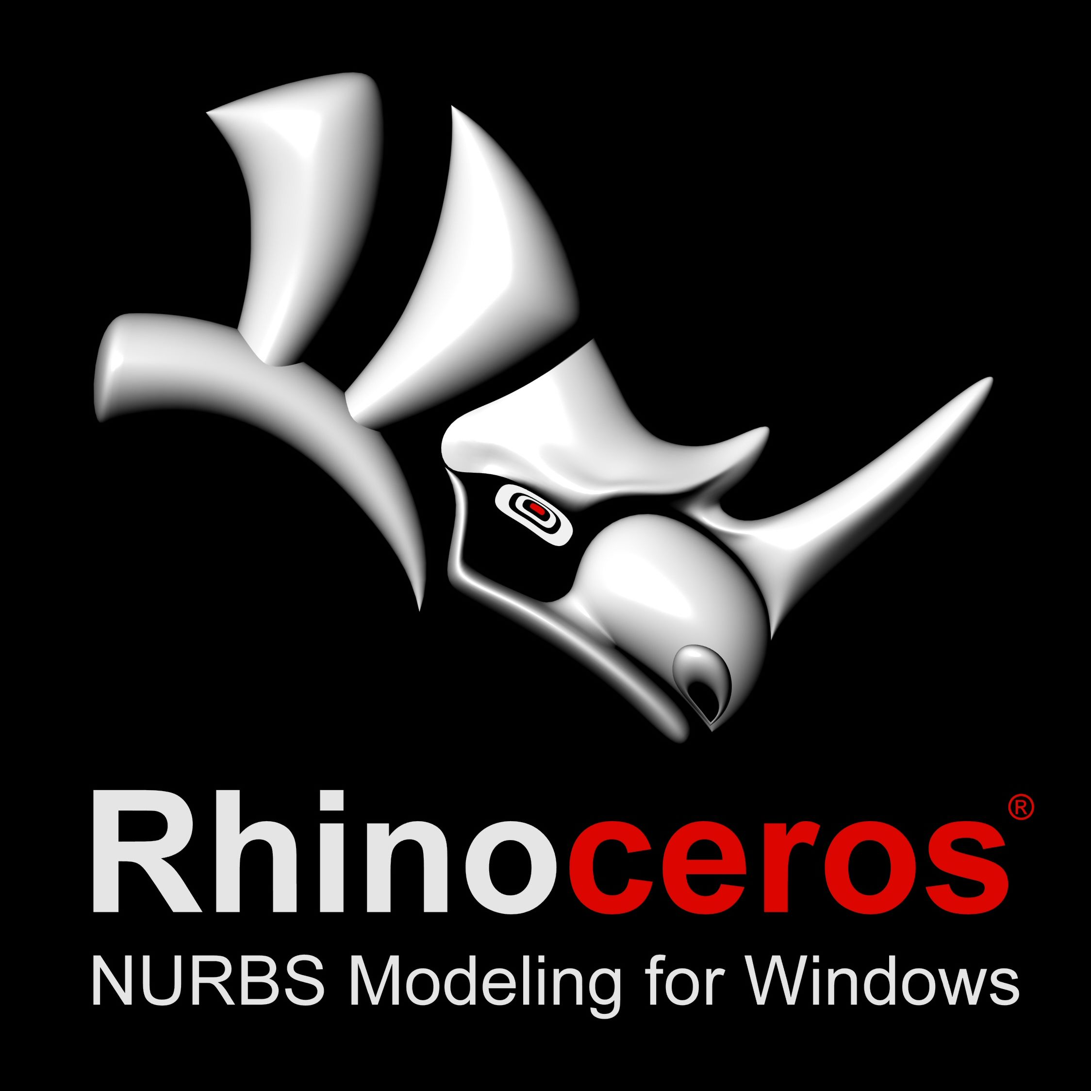 rhino 3d logo Szukaj w Google Rhino software, Rhino