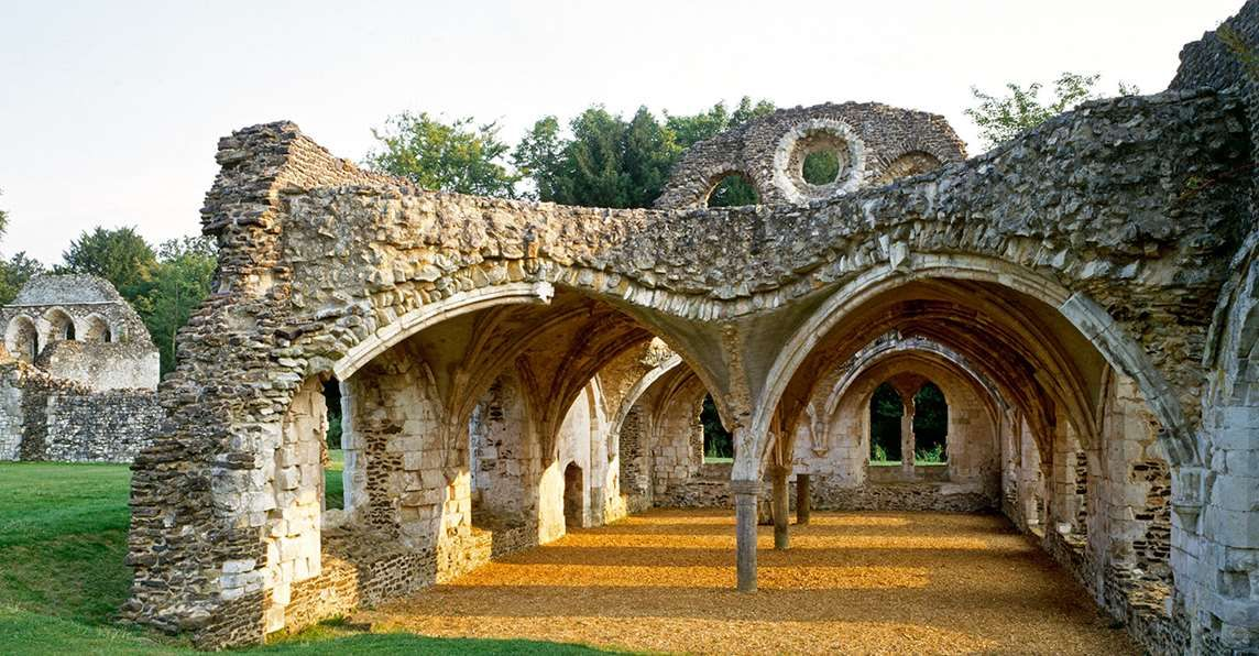 Waverley Abbey Ruins Historic Buildings English Heritage Historical Architecture