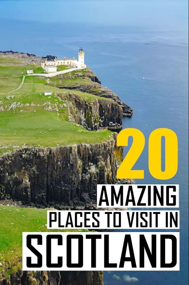 The 20 best things to do in Scotland, UK. A detailed Scotland travel guide with all the top tourist attractions and landmarks you need to see. Find out all about the best places to visit in Scotland, all the UNESCO World Heritage sites you need and a lot of Scotland photography inspiration. #travel #scotland #europe #traveltips #travelguide