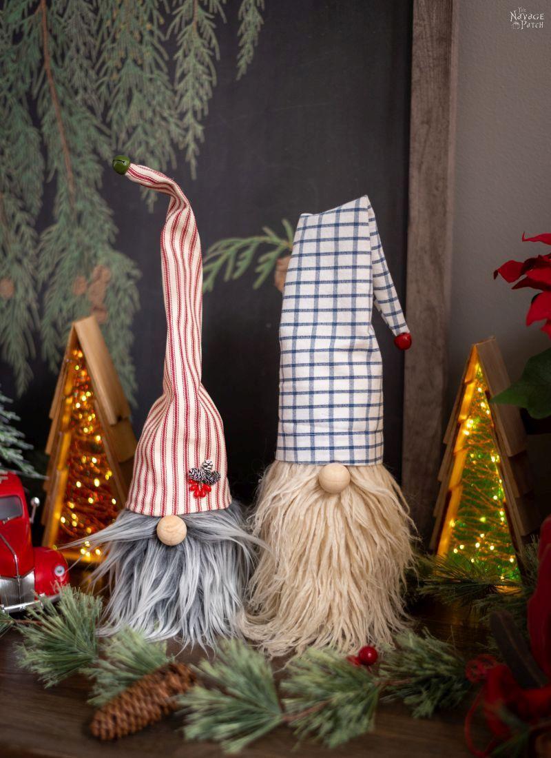 Easy DIY Christmas Gnomes Easy christmas diy, Yarn