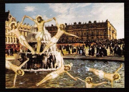 Prévert. Le Christ de la fontaine des Innocents. Paris