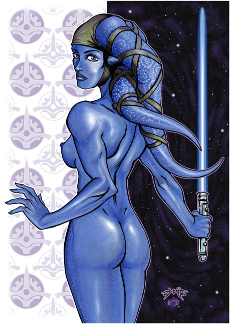 aayla secura sleeping nude