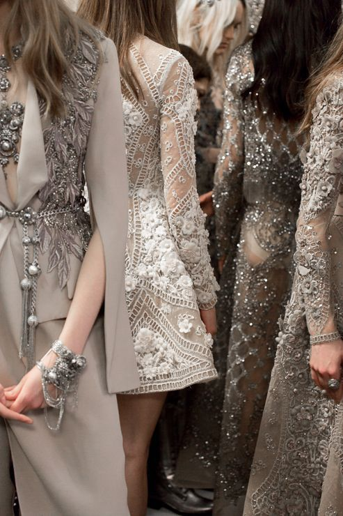 ELIE SAAB Backstage | Haute Couture Spring Summer 2016 (vía ℓυηα мι αηgєℓ ♡)