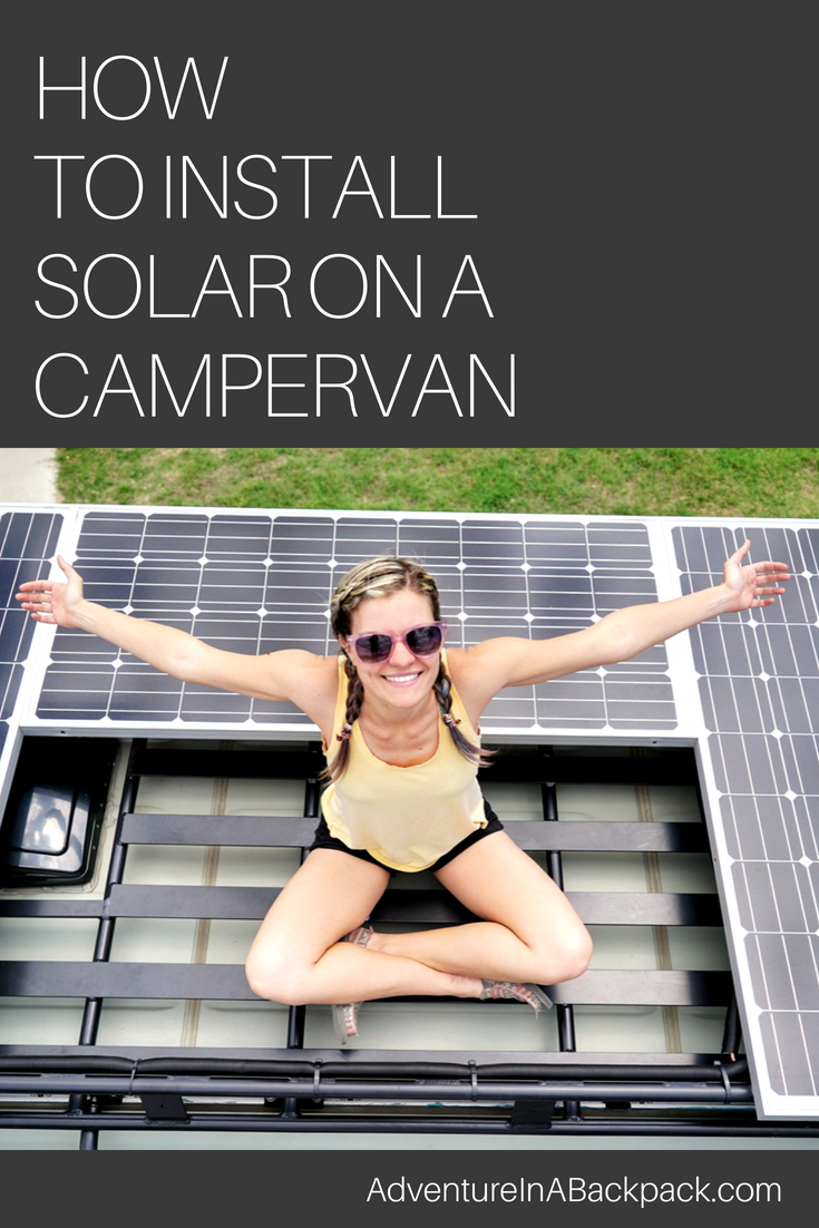 Easy To Follow Instructions For How Install Solar On A Campervan Camper Truck Wiring Diagram Rv Or Travel Trailer Complete With Diagrams And Shopping Lists