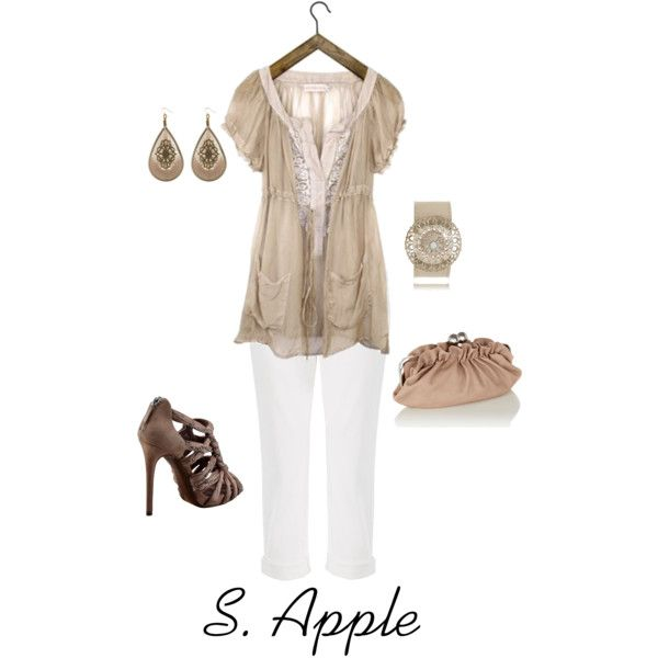 Simply Pretty., created by sapple324 on Polyvore