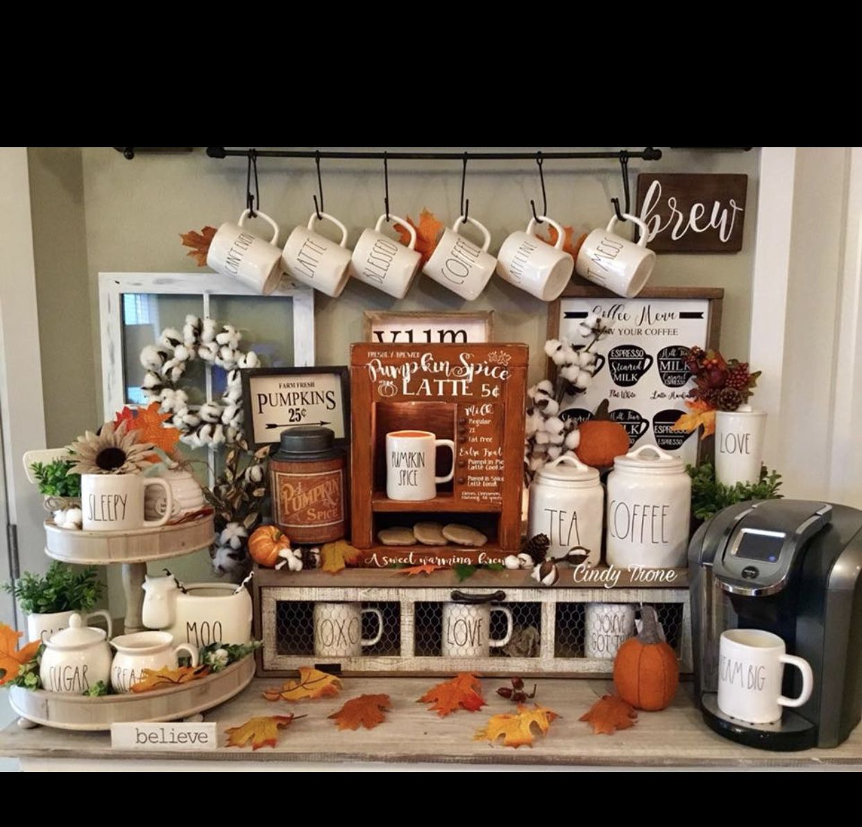 Halloween badezimmer dekor pin by nina corbett on rae dunn in   pinterest  coffee station