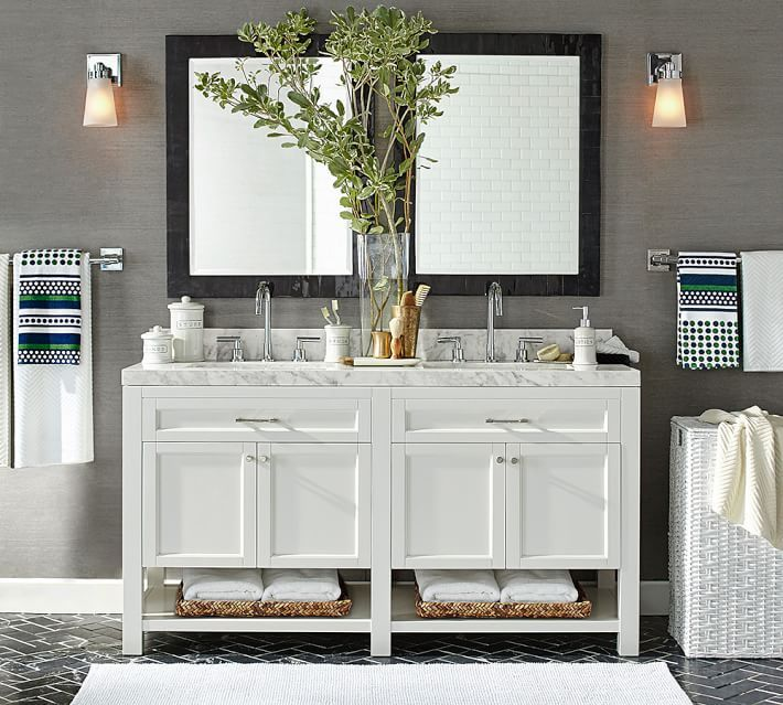 Weu0027ve Found Some Gorgeous Pre Made Bathroom Vanities That Wonu0027t Break The  Bank But Still Elevate Your Space To Spa Like Enviability