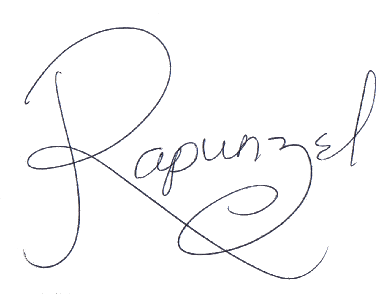 "lifecouldbeawonderland: ""Rapunzel autograph for your blog! """