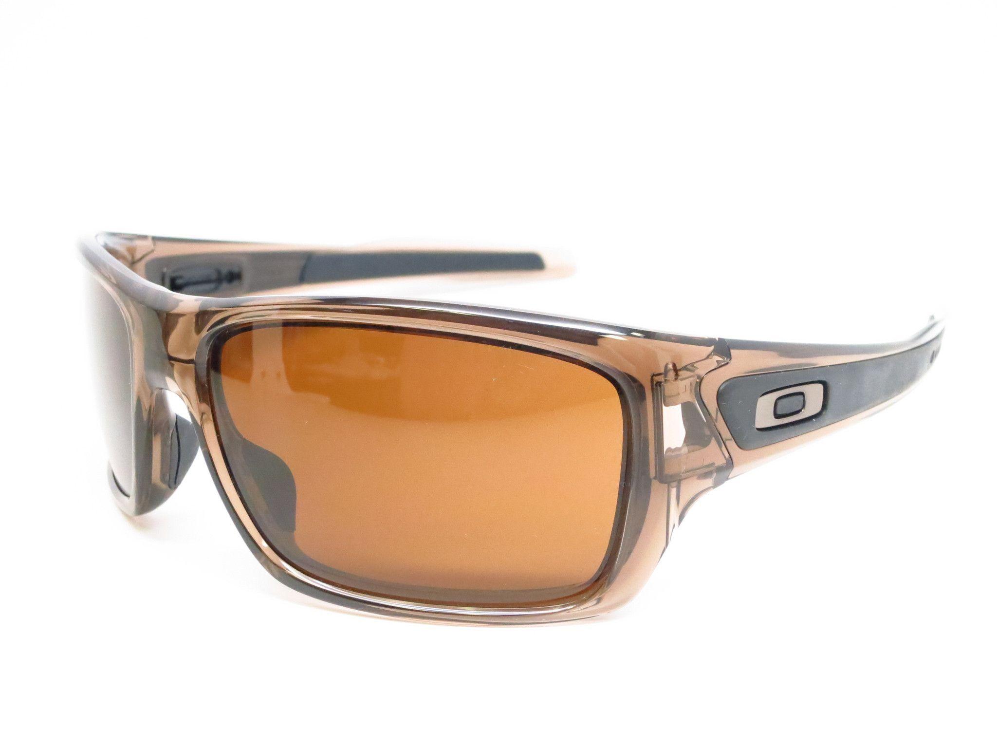 Óculos De Sol · Oakley Turbine OO9263-02 Brown Sunglasses c6c7b3cbb9
