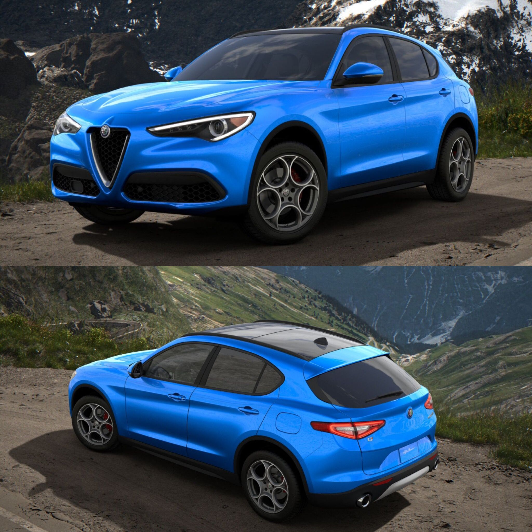 "Thoughts On The Color ""Misano Blue""? 2018 Alfa Romeo"