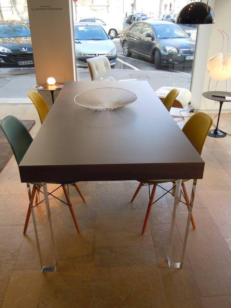 tellus concrete table by matali crasset concrete by lcda matali crasset concrete. Black Bedroom Furniture Sets. Home Design Ideas