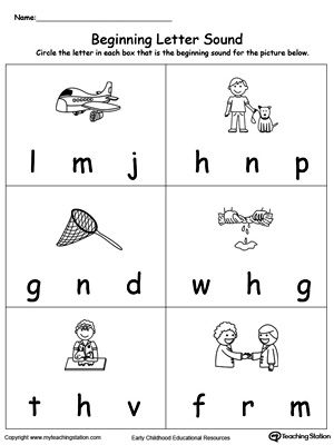 Beginning Letter Sound Et Words  Phonics Reading Phonics And