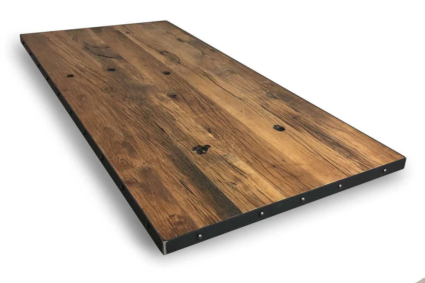 Tischplatte rund Eiche massiv nach Maß [WOHNSEKTION]
