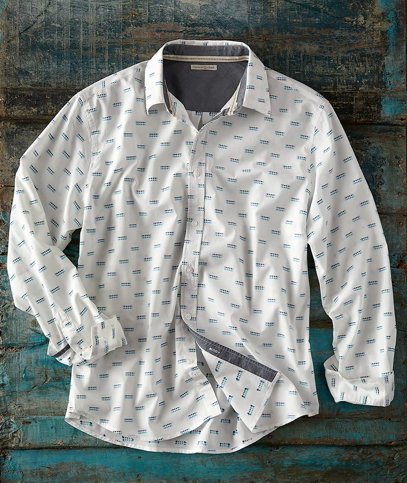 Men S Shirts Casual Refined Cool Carbon2cobalt In 2020 Shirts Casual Work Wear Mens Long Sleeve