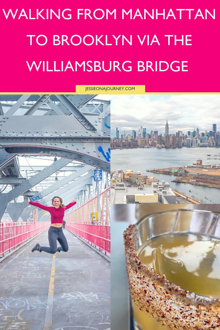 Walking from Manhattan to Brooklyn via the Williamsburg