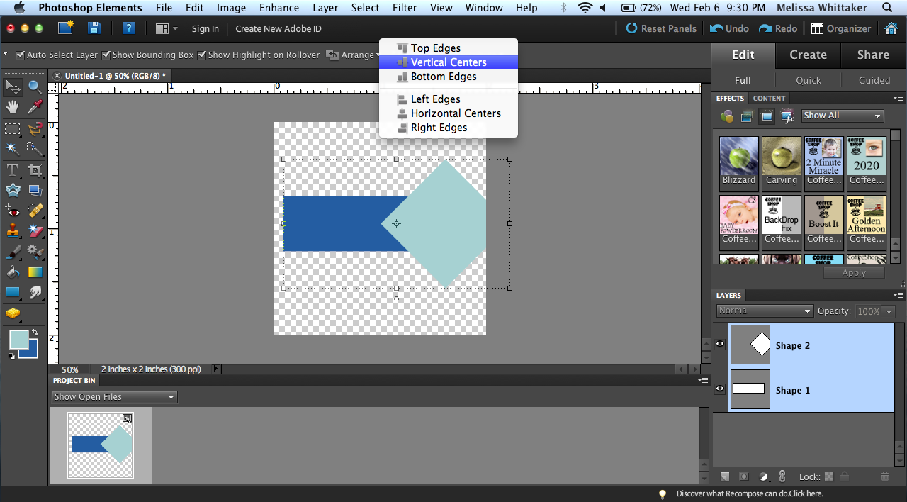 Photoshop elements tutorial making a pennant flag project life photoshop elements tutorial making a pennant flag baditri Gallery