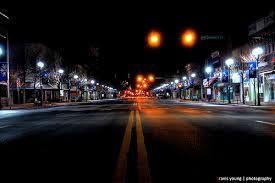 Night View Of Downtown Garden City Ks Satellite Photos Of Earth Garden City Hotel Kansas