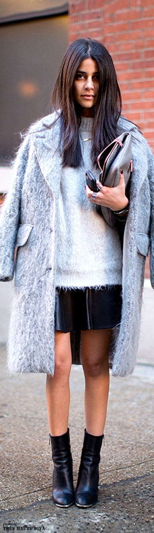 Day 1 #NYFW Fall 2014 #Streetstyle