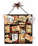 Vintage style ATC holder: 7 Gypsies... Versatile wall collage.. Love it!