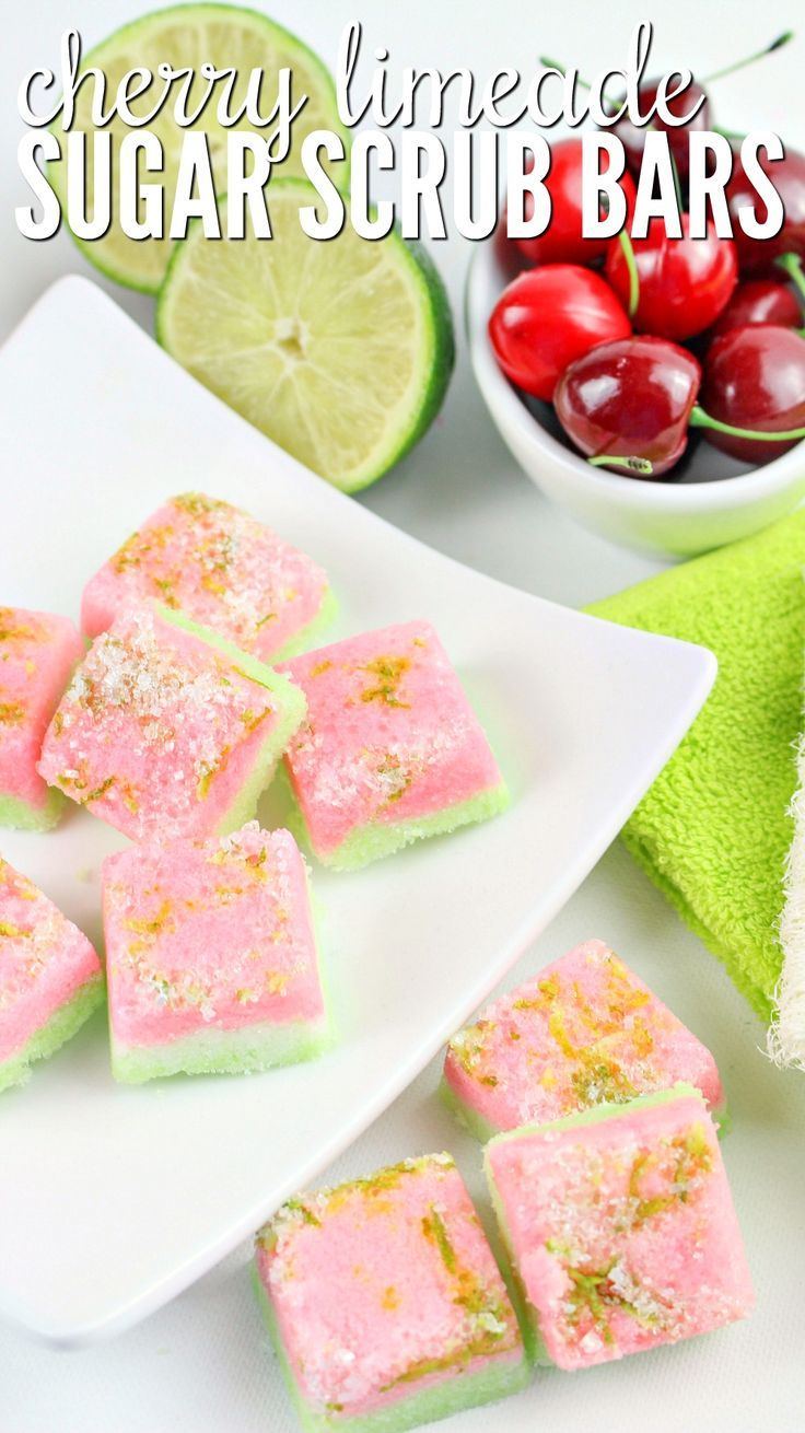 Cherry limeade sugar scrub bars bath salts u scrubs pinterest