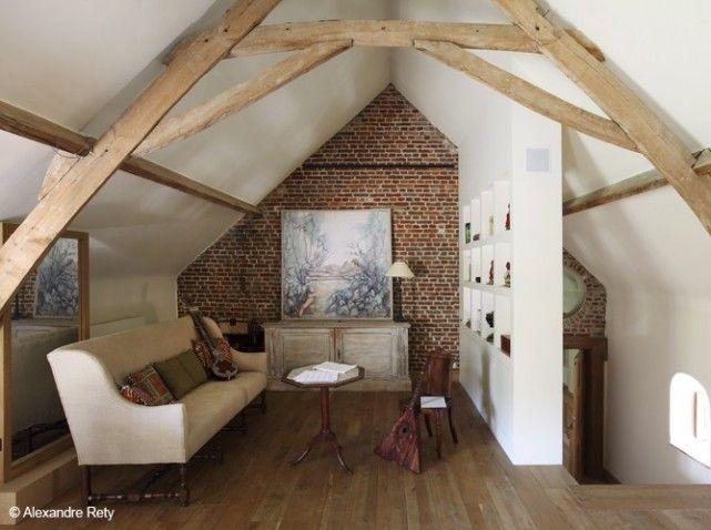 Combles amenages cloison placard | grenier | Pinterest | Combles ...