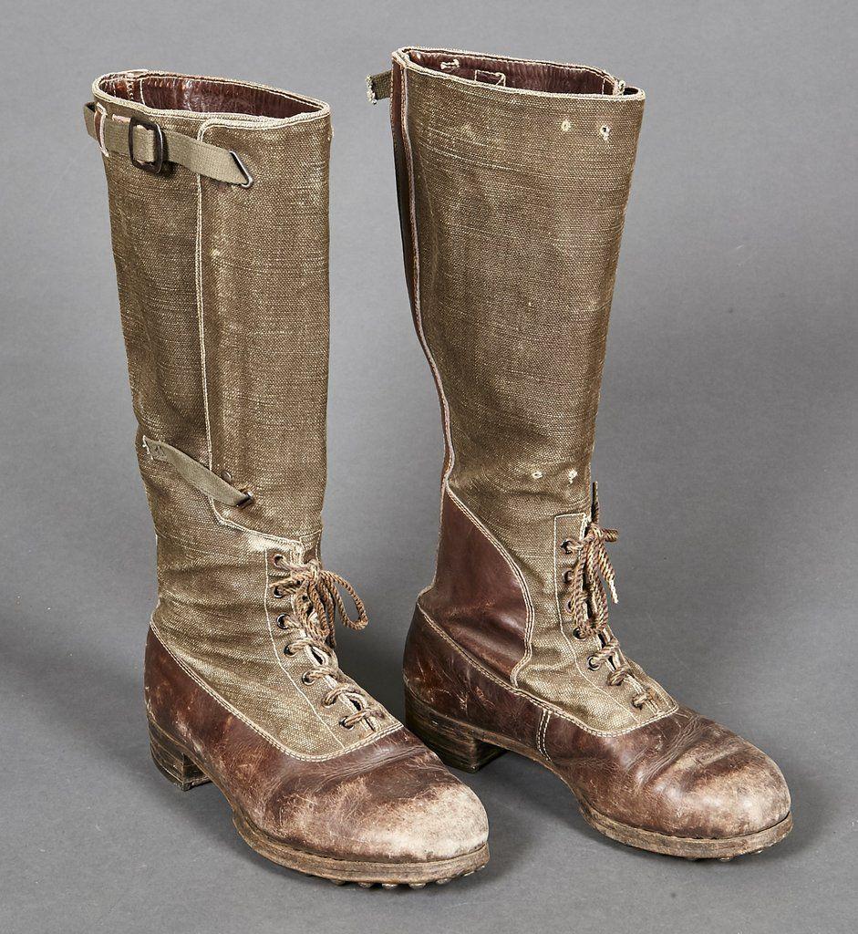 WWII German Tropical DAK Boots | art ref-wars in 2019