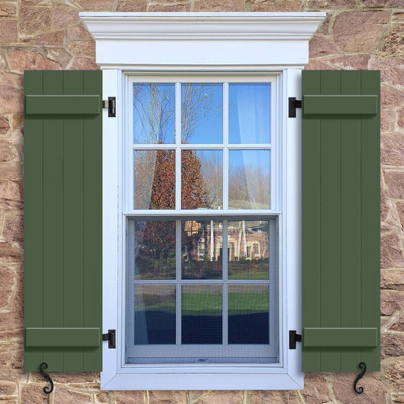 Adding Curb Appeal With New Shutters House Shutters Shutters Exterior Vinyl Siding House