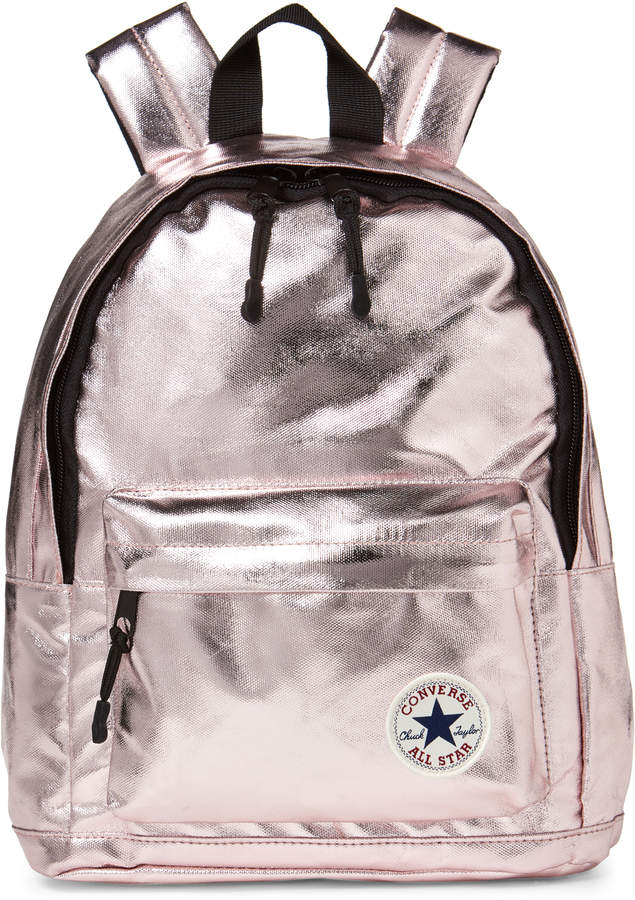 05dd1980845f Converse Girls) Metallic Rose Gold Mini Backpack | Products | Mini ...