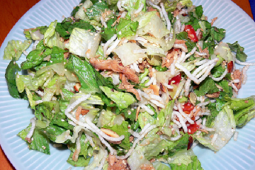 Warm Cabbage and Chicken Salad | Ramen Noodle Recipes - Best Online Collection
