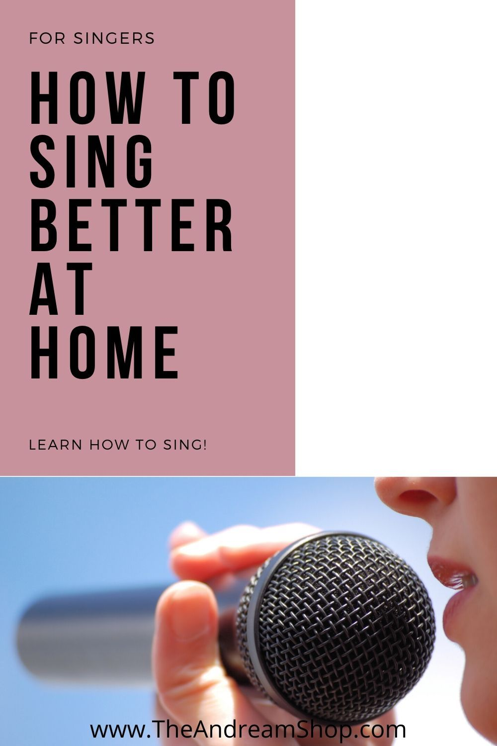 How To Learn To Sing Better At Home In 2020 In 2020 Singing Course Singing Tips Singing