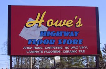 Howe's Floor Store residential and commercial flooring for southern Maine