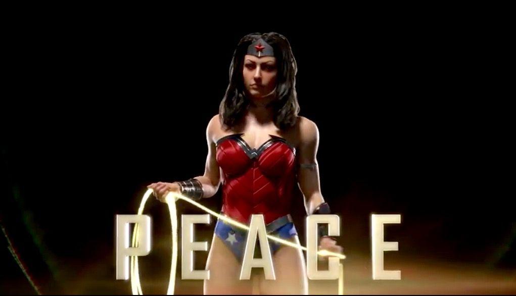 "Wonder Woman ""peace"""