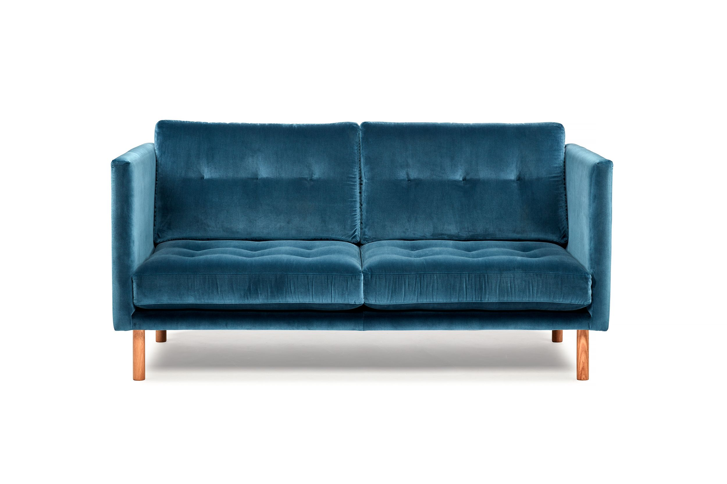 Stanley Sofa by Arthur G Green Velvet curved Sofa