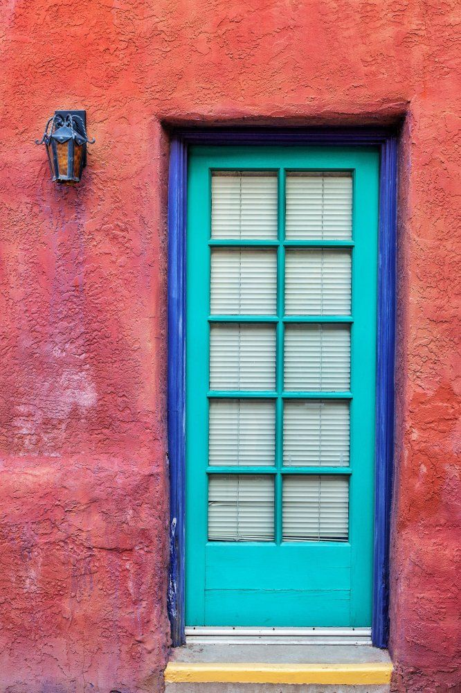 Delicieux Our Doors Show Up Everywhere! Turquoise Tucson Door, By Matt Suess