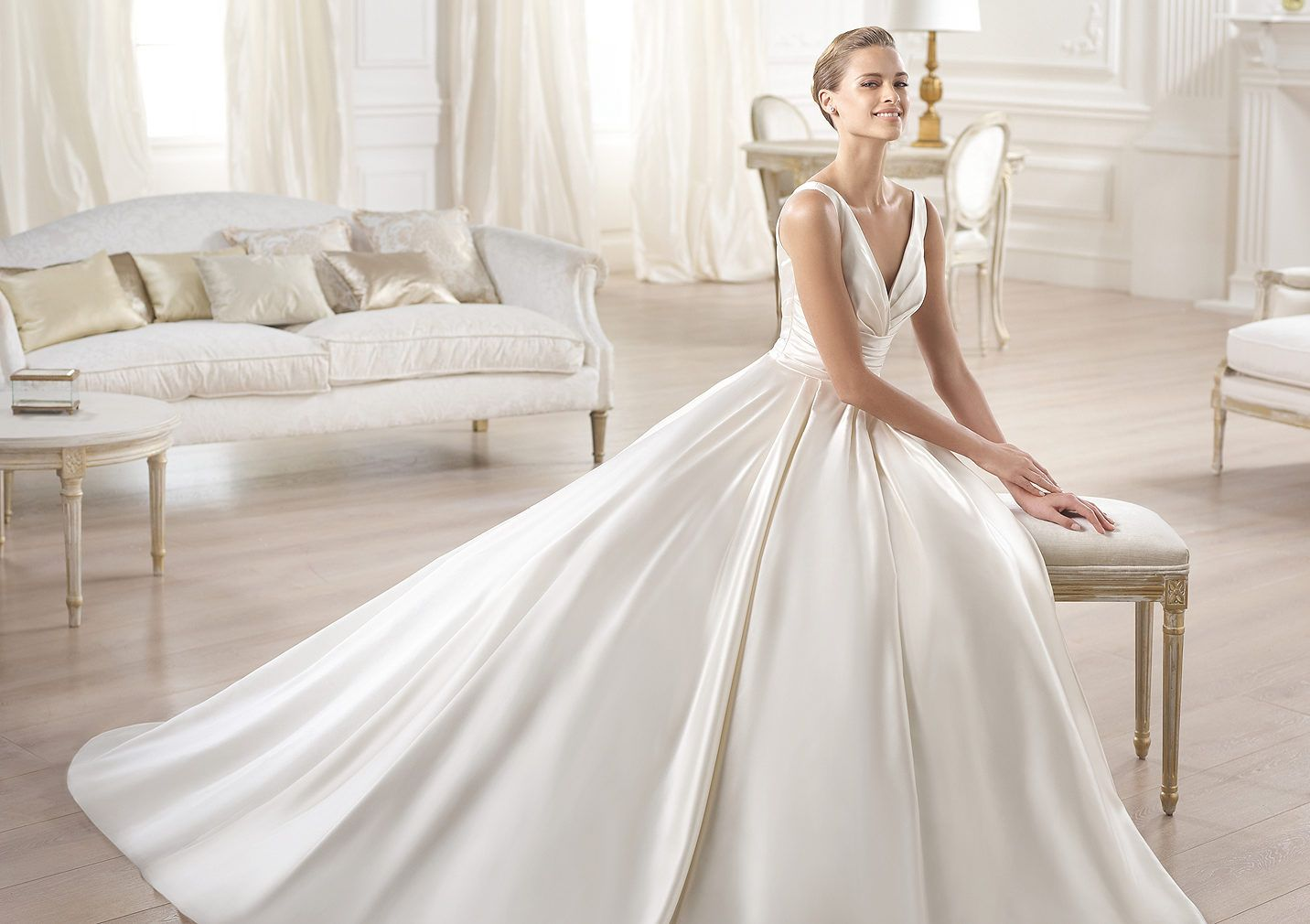 Pronovias Presents The Stunning 2018 Preview Collections: Pronovias Presents The Ocumo Wedding Dress. Collection
