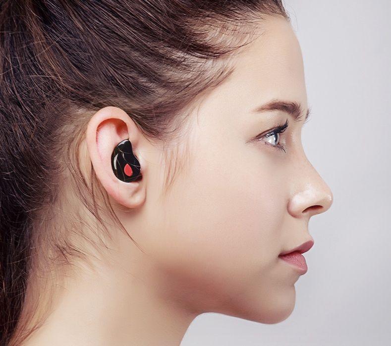Most Invisible SingleEar Earbud, Super Small, Super Light